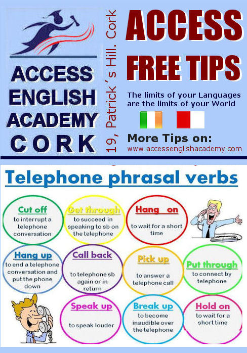 Course English Cork TIP TELEPHONE