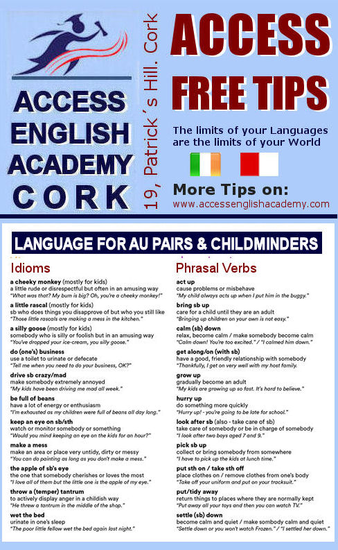 Course English Cork TIPAuPairs
